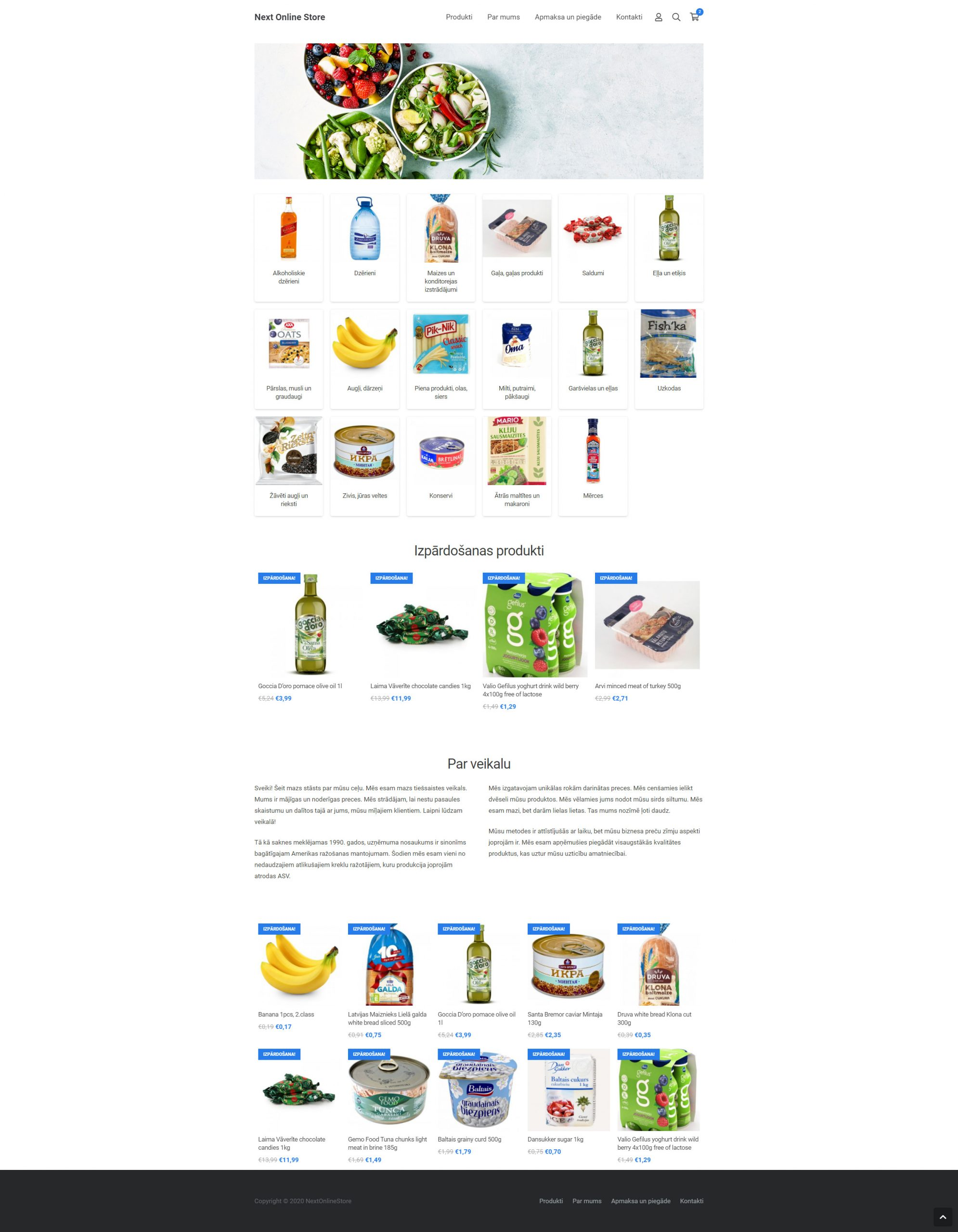 Product food доставка еды